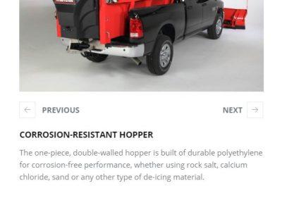 CORROSION-RESISTANT HOPPER