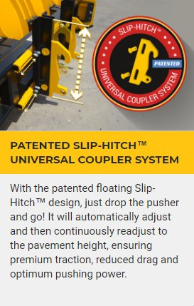 PATENTED SLIP-HITCH™ UNIVERSAL COUPLER SYSTEM