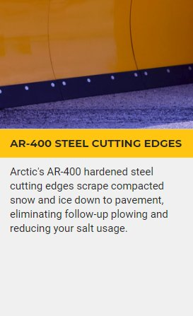 AR-400 STEEL CUTTING EDGES