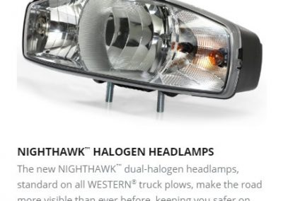 NIGHTHAWK™ HALOGEN HEADLAMPS