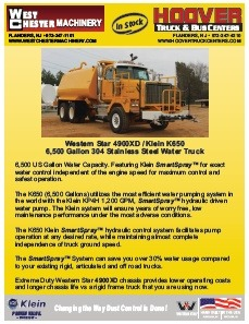 Western Star 4900 brochure PDF download