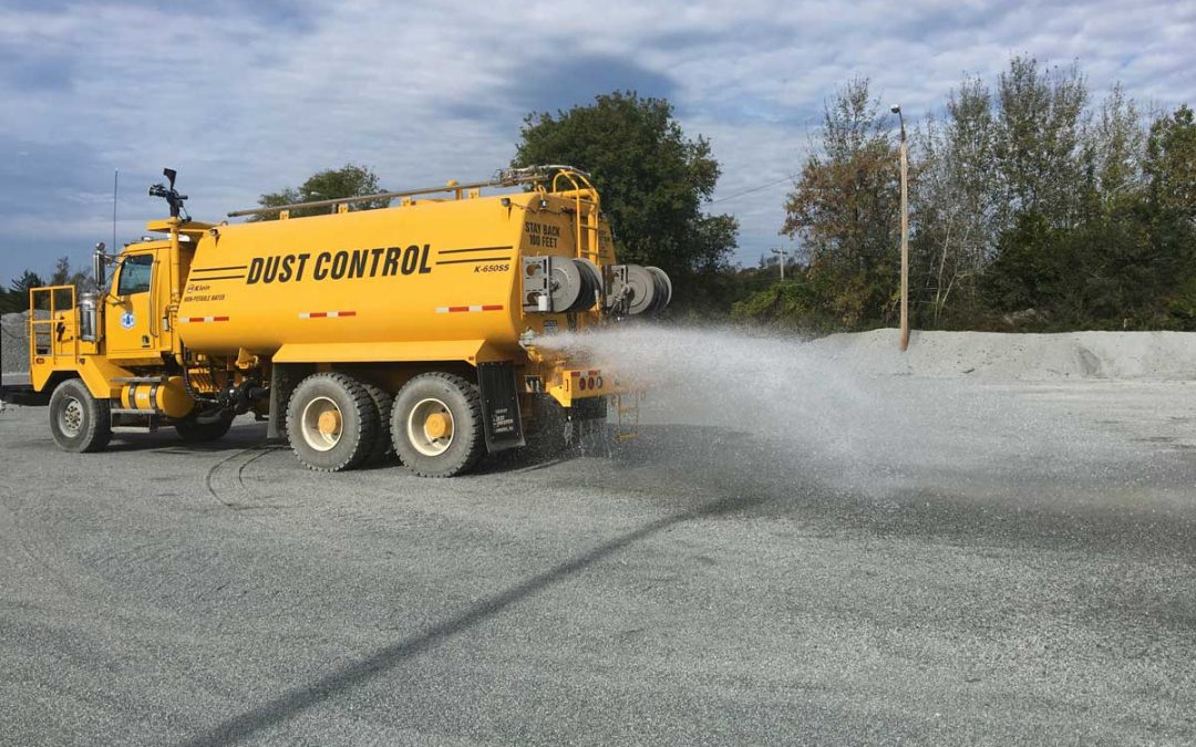 New dust control technology for construction and mining environments