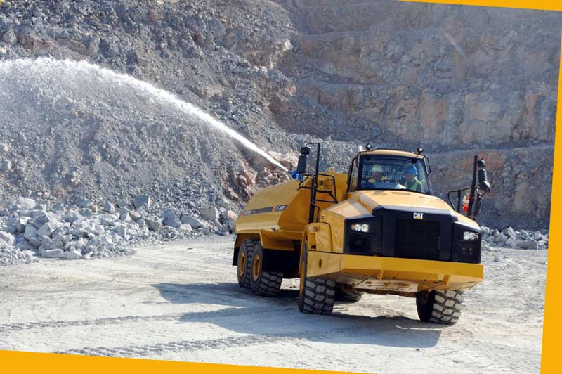 Dust Control at Mining & Construction Sites
