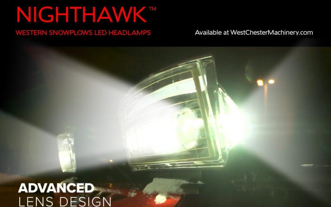 All-New NIGHTHAWK LED Headlamps by Western Snowplows