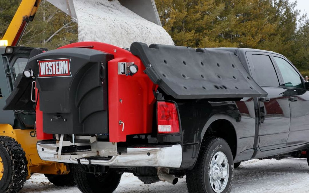 Western Tornado Spreader – Contractor Grade Ice Control High Performance