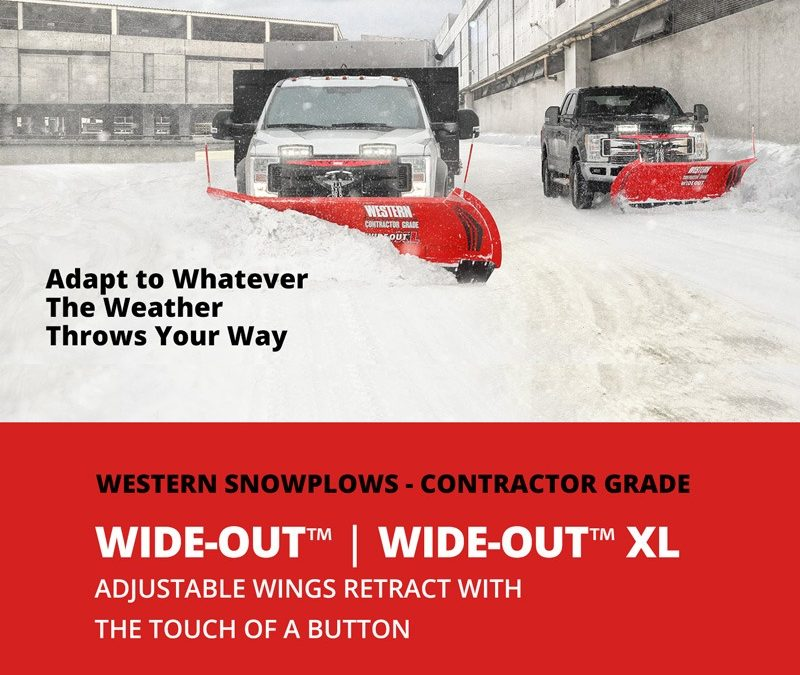WIDE-OUT™ & WIDE-OUT™ XL ADJUSTABLE WING SNOWPLOWS
