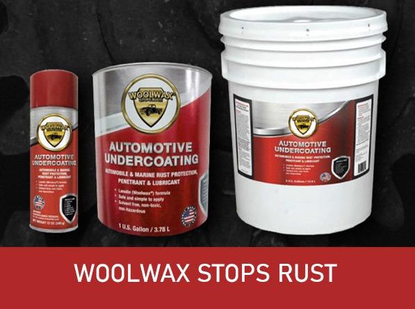WoolWax stops rust